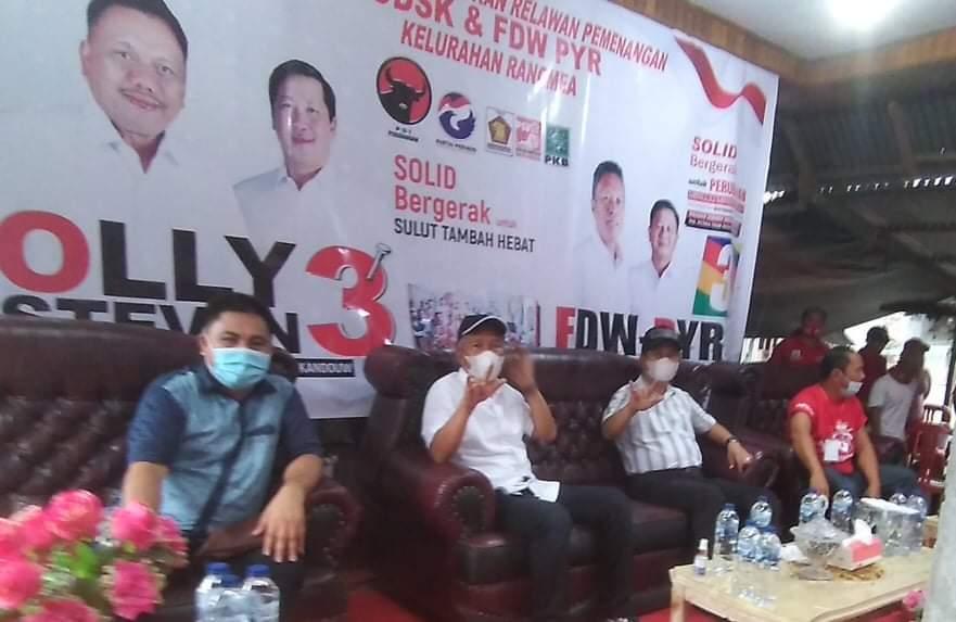 Relawan Dan Milenial Ranomea Bersatu Dukung Fdw Pyr Www Jurnal6 Com